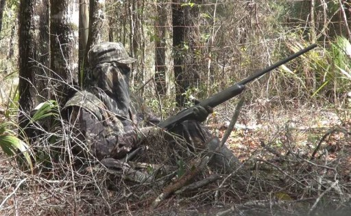 Brian set up on the Camp Gobbler